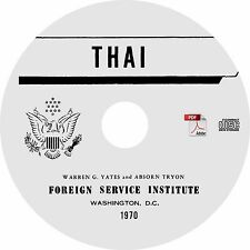 Learn to Speak THAI Language Training Course - MP3 Audio + PDF Text on CD