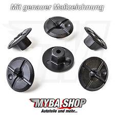 5X Plástico Tuerca Clips de fijación para Mercedes BMW 51711958025 a2019900050