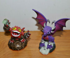 SKYLANDERS GIANTS Figurine Lot CYNDER PUNCH POP FIZZ Activision Toys to Life
