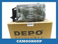 Front Headlight Left Front Left Headlight Depo For FIAT Type 88 95