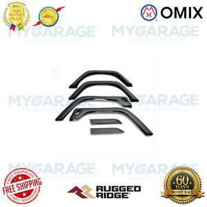 Omix For 1997-2006 Jeep Wrangler TJ Fender Flare Kit, 6 Piece, Factory Style