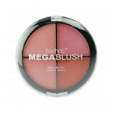 Technic Mega Blush -  Quad Blusher Compact Palette 4 Shades - 20g