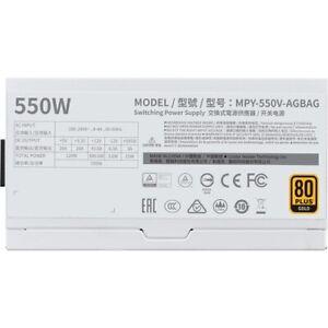 Cooler Master V550 Gold - V2 White Edition Semi-Fanless Full-Modular 80 Plus Gol