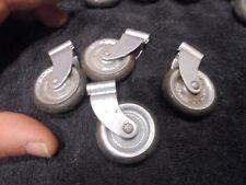 Lot de 4 : Petites Roulettes à visser de Bar Plateau Meuble Panneau Roulant Roue