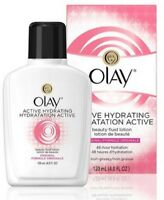 OLAY Active Hydrating Beauty Fluid Original 4 oz (Pack of 2)