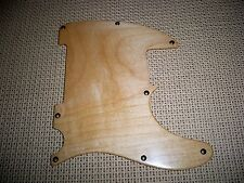 8 HOLE MAPLE SOLID WOOD PICKGUARD FOR USA/MEXICO FENDER ESQUIRE TELECASTER