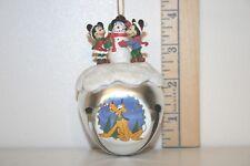 Mickey Mouse Sleigh Bell Ornament - Snow Buddy Like You - Minnie - Ashton Drake
