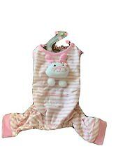 Monkey Daze Bunny Jumper Dog Clothes Xs Easter Pajamas