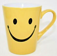 Burton + Burton Yellow Smiley Face Coffee Mug Gump