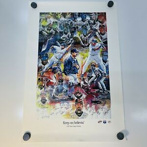 Fernando Tatis Jr and Manny Machado Canvas Print Man Cave San Diego Padres Sports Art Print Kids Decor Baseball Poster Wall Art