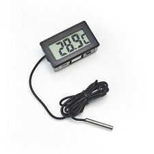 1Pc Digital LCD Temperature Thermometer Probe for Fish Tank Freezer Car Frige