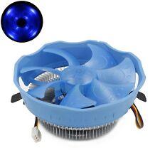 11CM Large LED Fan Cooler CPU Radiator For Intel 775 1155 1156 AMD AM2+ AM3 FM1