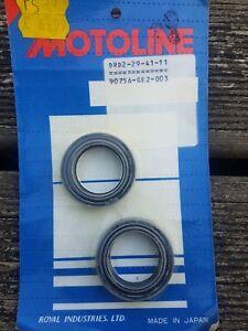 Motorcycle Motoline Fork Oil Seals X2 Pair - 29x41x11