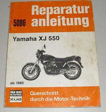Reparaturanleitung Yamaha XJ 550 ab Baujahr 1980 (altes Original)