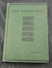 Four American Poets Bryant Longfellow Whittier Holmes By Cody 1899   YG48
