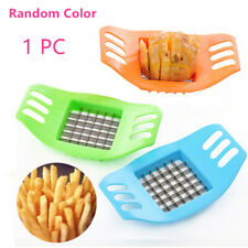 Plastic Stainless Steel Potato Strip-cutter Cube Shaped Durable Plastic & Steel