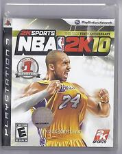 NBA 2K10 (Sony Playstation 3, 2009)