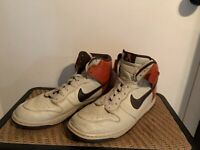 NIKE DUNK HIGH BROWN ORANGE MEN'S SIZE 13