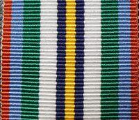 AUSTRALIAN ANNIVERSARY OF NATIONAL SERVICE MEDAL 1951 - 1972 RIBBON