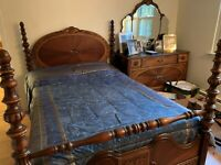 Antique Bedroom set circa 1920 (NO SHIPPING - PICK UP ONLY) see description