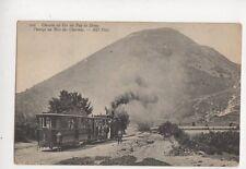 Chemin De Fer du Puy de Dome Passage au Bois des Charmes France Postcard 679b