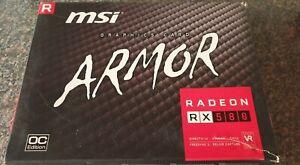 MSi AMD RX 580 8GB BOX ARMOR EDITION
