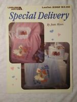 Special Delivery Leisure Arts 2362 Baby Patterns for Counted Cross Stitch
