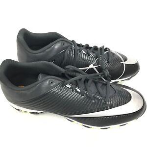 Nike Air VPR Fastflex Low Football Cleats Gray Black Size 13 Men 833391-002