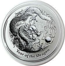 Australien 10 Dollars 2012 Jahr des Drachen 10 Oz Silber Lunar II Anlagemünze
