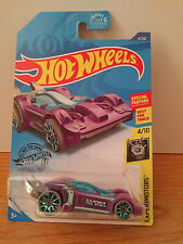 Hot Wheels 197/365 Tooligan Purple Experimotors 9/10 Best For Track Car New 1:64