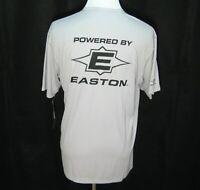 New EASTON Men's (Size Medium) Gray Short Sleeve Baseball T-Shirt Athletic Tee