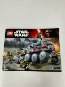 75151 Clone Turbo Tank Star Wars Lego (with Minifigure and Instructions)