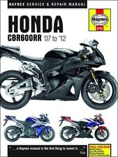HAYNES SERVICE REPAIR MANUAL HONDA CBR600RR 2007-2012 2008 2009 2010 2011 11 12