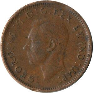 COIN / CANADA / 1 CENT 1943 / GEORGE VI.     #WT7733