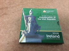 Ireland Proclamation of the Irish Republic 2016 euro coin set  - FREE UK P&P
