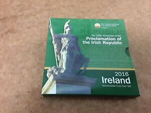 Ireland Proclamation of the Irish Republic 2016 euro coin set