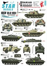 Star Decals 1/35 Iranian Tanks & AFV 2 Iran Revolutionary Guard IRGC 35c1051