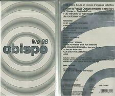 K7 VIDEO - PASCAL OBISPO : OBISPO EN CONCERT LIVE 98