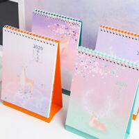 Desk Calendar Desk Stand Up Calendar Runs from July 2019 Through Dec 2020EF