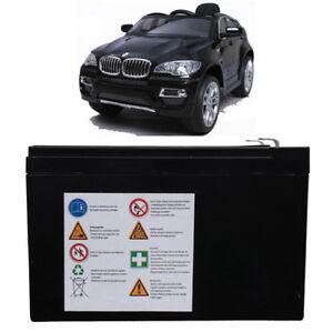 Ersatzakku Akku Batterie für BMW X6 Kinderauto Kinderfahrzeug Elektroauto