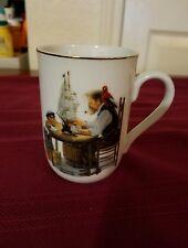 """""""For A Good Boy"""" By Norman Rockwell - HMI 1982 - Coffee Tea Mug"""