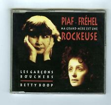 PIAF FREHEL MAXI CD SINGLE (NEUF)LES GARCONS BOUCHERS & BETTY BOOP
