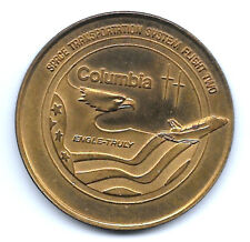 """NASA STS-2 SECOND FLIGHT OF COLUMBIA """"THE NEW ERA OF SPACE EXPLORATION"""" BRONZE"""