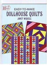 Easy-to-Make Dollhouse Quilts - Janet Wickell - Paperback