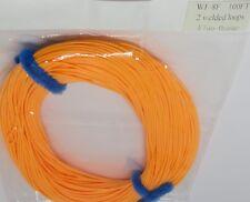 WF-8-F FLY LINE with loops floating fly line - hi vis orange