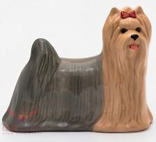 Porcelain Figurine of the Yorkshire Terrier dog