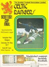 Home Teams C-E Celtic Final Football Programmes