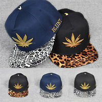 New Unisex Men Fashion Bboy Brim Adjustable Baseball Cap Snapback Hip-Hop Hat