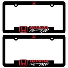 Honda-Racing-License-Plate-Frames-Civic-TyperR-Accord-CR-V-HR-V-Ridgeline-bracke