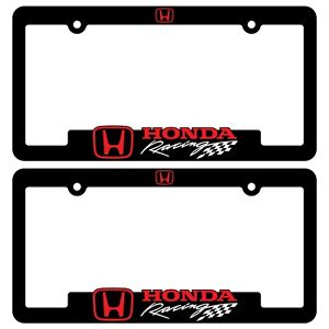Honda-Racing-License-Plate-Frames-Civic-TyperR-Accord-CR-V-HR-V-Ridgeline-bracke
